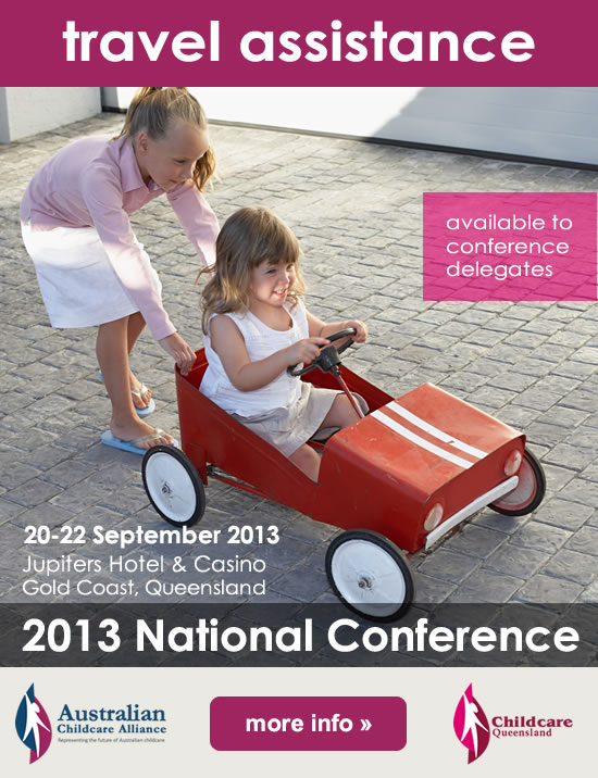 National child care conference 2013