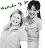 Joanna O'Brien and Nichola McLean